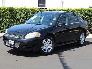 2012 Chevrolet Impala LT Fleet Carfax 1-Owner Air Conditioning Dual-Zone Manual Climate Control