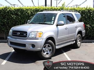 2002 Toyota Sequoia SR5 Carfax 1-Owner - No Accidents  Damage Reported to CARFAX Aerodynamic Mul