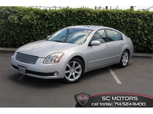 2004 Nissan Maxima SE Carfax Report - No Accidents  Damage Reported to CARFAX  Liquid Silver M