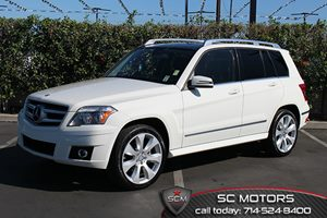 2010 MERCEDES GLK350  Carfax 1-Owner 6 Cylinders Automatic Headlamps WTwilight Sensor Brakes