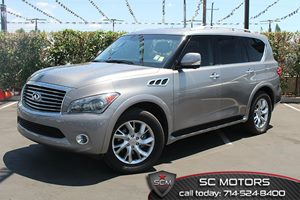 2012 Infiniti QX56 8-passenger Carfax 1-Owner Air Conditioning  Climate Control Audio  Premium