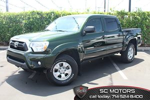 2013 Toyota Tacoma PreRunner Carfax Report  Spruce Mica  All advertised prices exclude governm
