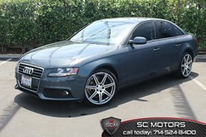 2010 Audi A4 20T Premium Carfax Report 20L Fsi I4 Turbo-Charged Engine Air Conditioning  Clim