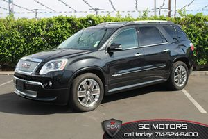 2012 GMC Acadia Denali Carfax 1-Owner - No Accidents  Damage Reported to CARFAX  Carbon Black
