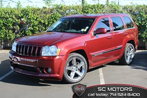 2007 Jeep Grand Cherokee SRT-8 Carfax Report - No Accidents  Damage Reported to CARFAX  Red Ro