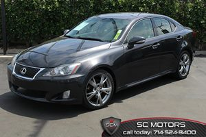 2009 Lexus IS 250 NAV Carfax Report  Black Sapphire Pearl  All advertised prices exclude gover