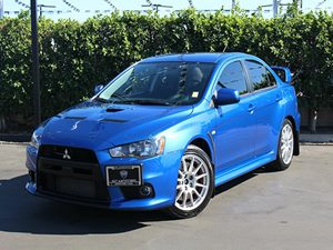 2011 Mitsubishi Lancer Evolution GSR Carfax 1-Owner - No Accidents  Damage Reported to CARFAX