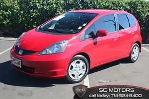 2012 Honda Fit  Carfax 1-Owner  Milano Red  All advertised prices exclude government fees and