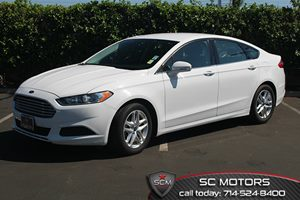 2013 Ford Fusion SE Carfax Report  Oxford White  All advertised prices exclude government fees