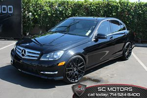 2012 MERCEDES C250 Sport Sedan Carfax Report - No Accidents  Damage Reported to CARFAX  Black