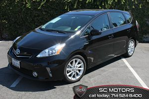 2012 Toyota Prius v Two Carfax 1-Owner  Black  All advertised prices exclude government fees a
