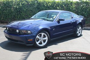 2010 Ford Mustang GT Carfax 1-Owner - No Accidents  Damage Reported to CARFAX  Grabber Blue