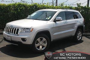 2011 Jeep Grand Cherokee Limited Carfax 1-Owner  Bright Silver Metallic  All advertised prices
