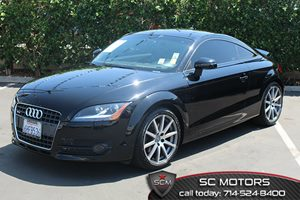 2010 Audi TT 20T Prestige Carfax 1-Owner  Brilliant Black  All advertised prices exclude gove