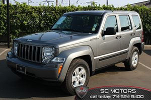 2012 Jeep Liberty Sport Carfax 1-Owner  Mineral Gray Metallic  All advertised prices exclude g