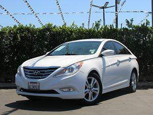 2011 Hyundai Sonata limited Carfax Report  Pearl White CLEAN TITLE          16398  Per Mont