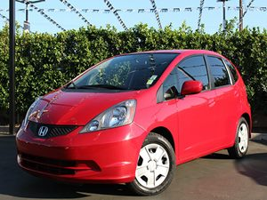 2013 Honda Fit  Carfax 1-Owner  Milano Red  All advertised prices exclude government fees and