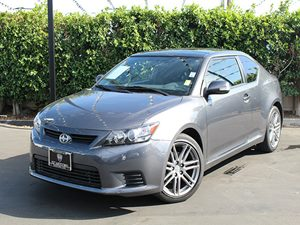 2013 Scion tC  Carfax Report - No Accidents  Damage Reported to CARFAX  Magnetic Gray Metallic