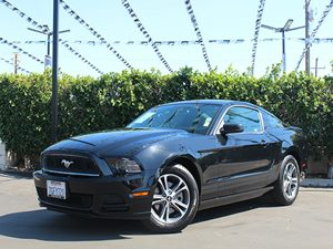 2014 Ford Mustang V6 Carfax 1-Owner  Black CLEAN TITLE          22894  Per Month - On Appro