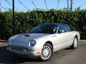 2005 Ford Thunderbird Deluxe 50th ANNIVERSARY Carfax Report 50Th Anniversary Cladding On Righ