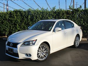 2013 Lexus GS 350  Carfax 1-Owner Air Conditioning  AC Audio  AmFm Stereo Convenience  Key