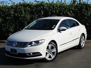 2013 Volkswagen CC Sport Carfax 1-Owner 20L Turbocharged Tsi I4 Engine 4 Cylinders Air Conditi