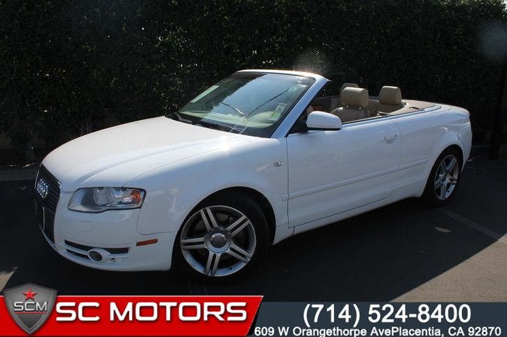 Sold 2007 Audi A4 20t Quattro Convertible In Placentia