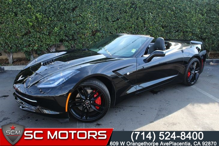 2014 Chevrolet Corvette Stingray 3LT Z51 (BACK UP CAMERA & NAVIGATION)