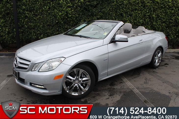 2012 Mercedes-Benz E350 Luxury Convertible