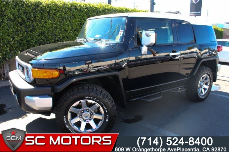 1b9ed35f1d2 Sold 2014 Toyota FJ Cruiser 4X4 Convenience Package in Placentia