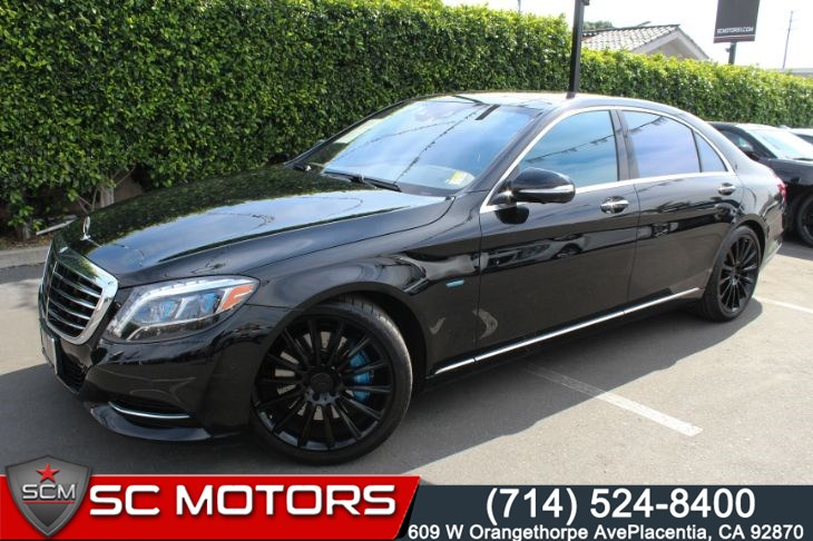 2017 Mercedes-Benz S 550e Plug-In Hybrid SPORT PACKAGE