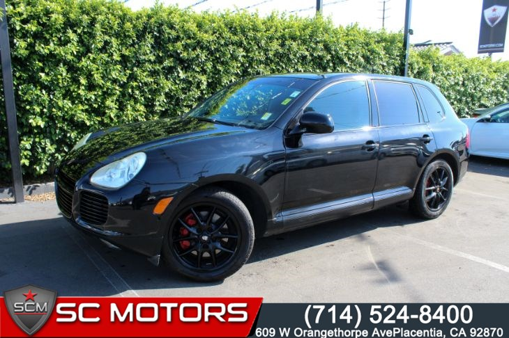 2004 Porsche Cayenne Turbo CONVENIENCE PKG