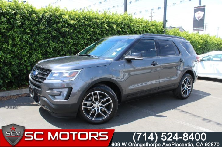 2016 Ford Explorer Sport AWD