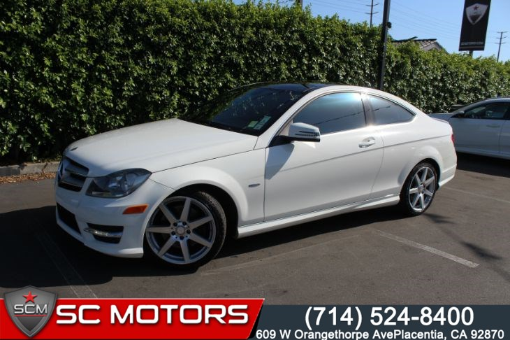 2012 Mercedes-Benz C 350 MULTIMEDIA PKG Sport