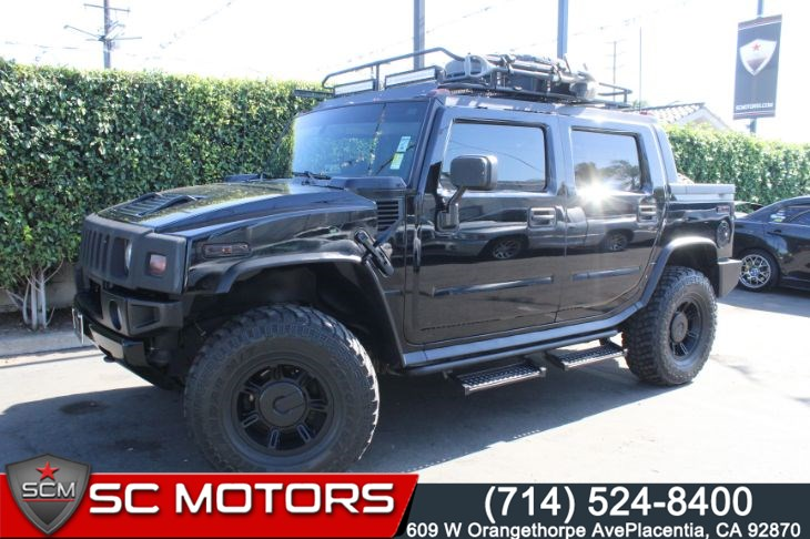 2005 HUMMER H2 SUT PREFERRED EQUIPMENT GROUP