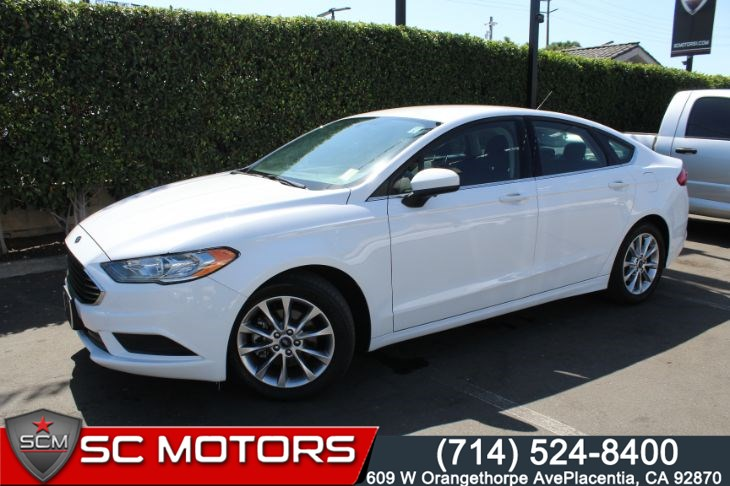 Ford Fusion Ecoboost >> 2017 Ford Fusion Se Ecoboost Sc Motors