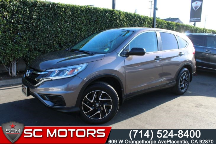 2016 Honda CR-V SE (BACK UP CAMERA & BLUETOOTH AUDIO)
