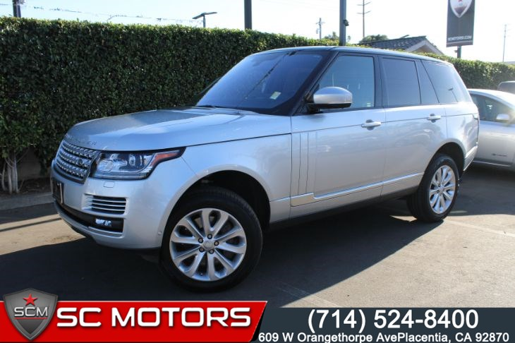 2016 Land Rover Range Rover HSE AWD ( BACK UP CAMERA & NAVIGATION)