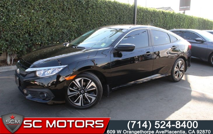 2016 Honda Civic Sedan EX-L w/Navi