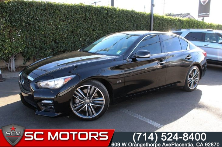 2016 INFINITI Q50 3.0t Sport (BACK UP CAMERA & LEATHER SEATS)