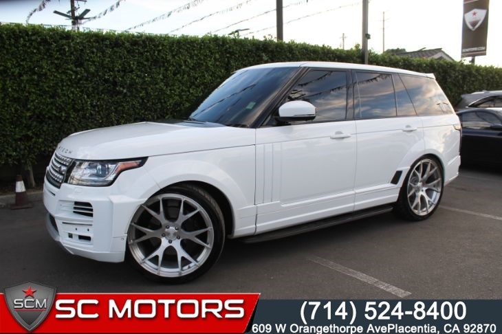 2014 Land Rover Range Rover Supercharged (NAVIGATION & BACK UP CAMERA)