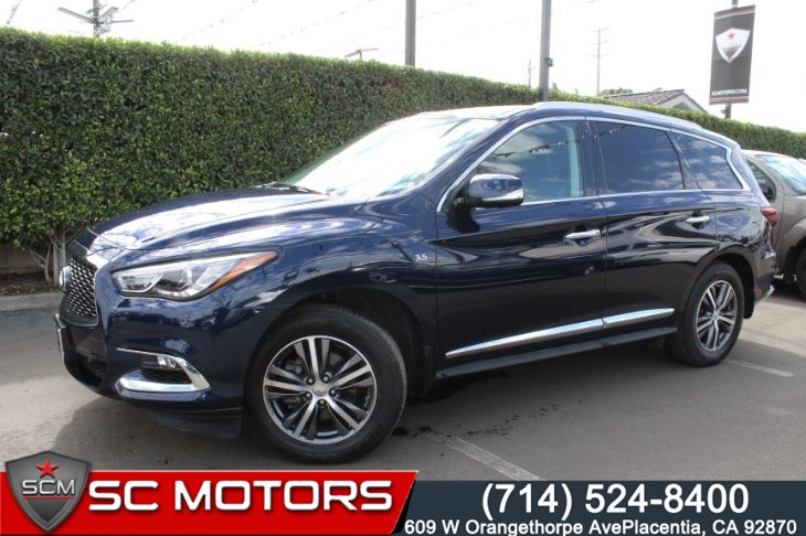 2017 INFINITI QX60 (NAVIGATION & BACK UP CAMERA)