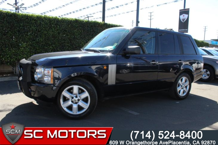 2005 Land Rover Range Rover HSE (NAVIGATION & LEATHER SEATS)