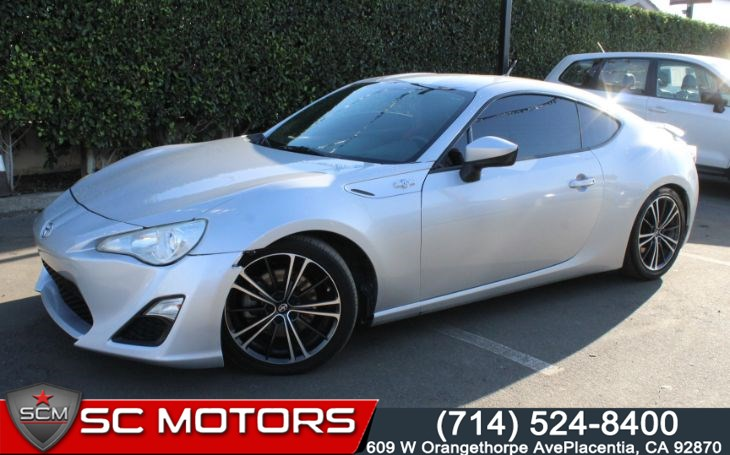 2013 Scion FR-S 10 Series (BLUETOOTH AUDIO)