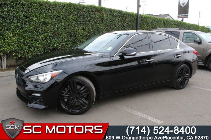 2015 INFINITI Q50 Sport (BACK UP CAMERA & NAVIGATION)