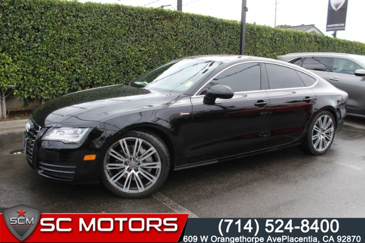 2012 Audi A7 3.0T quattro Premium  (BACK UP CAMERA &NAVIGATION)