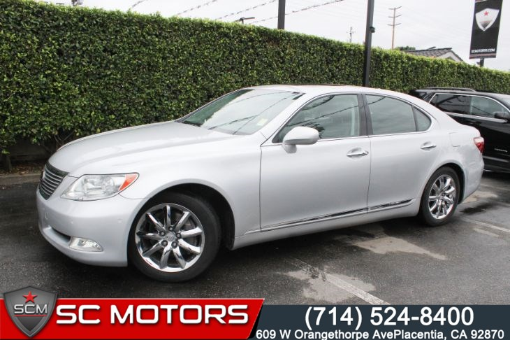 2007 Lexus LS 460 (NAVIGATION & BACK UP CAMERA)