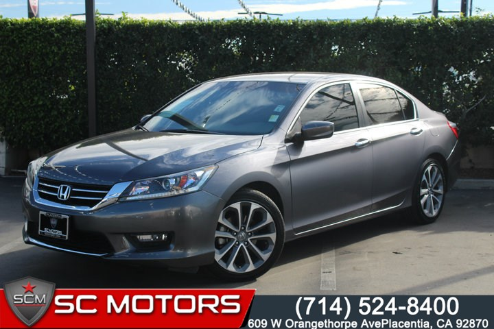 2014 Honda Accord Sport For Sale >> 2014 Honda Accord Sport Sc Motors