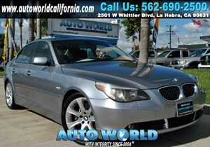 View 2005 BMW 5 Series