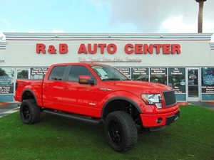 View 2014 Ford F-150 4x4 Lifted Twin Turbo